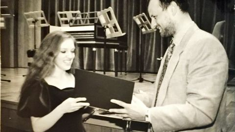 At 17, she became the first American to win gold in violin at the International Johann Sebastian Bach Competition.