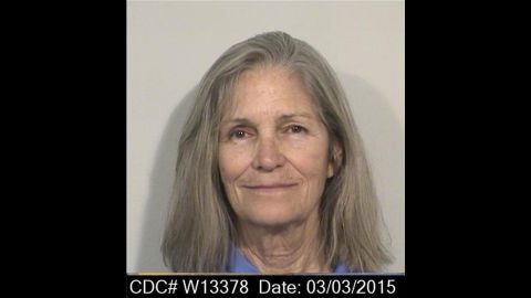 Leslie Van Houten was the youngest of the Charlie Manson followers.