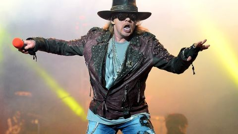 """Guns and Roses singer Axl Rose is probably not a fan of """"Fat Axl."""""""