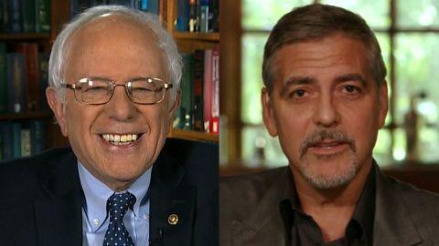 Bernie Sanders George Clooney fundraiser sotu_00000000.jpg