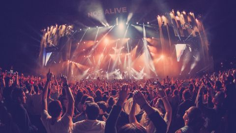Those attending Portugal's NOS Alive can buy hotel or camping packages with tickets. Acts include Radiohead, Arcade Fire, Pixies, Foals and Tame Impala.