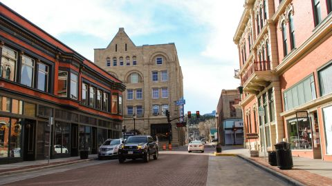 Residents hope this quiet Main Street will bustle once again.