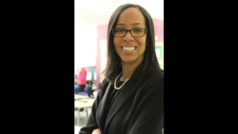 Michelle Macchia serves as a coach for P.S. 94's teachers.
