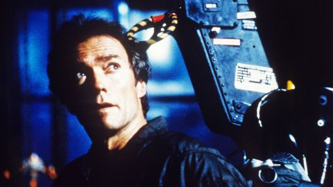 """Clint Eastwood produced, directed and starred in 1982's """"Firefox,"""" a spy thriller featuring a jet fighter that flies six times the speed of sound. The Soviet """"Firefox"""" jet is so advanced that its pilot operates it using thought commands. Eastwood plays an ex-U.S. Air Force pilot who sneaks into the Soviet Union to try to steal Firefox. Firefox dogfight scenes were created by original Star Wars special effects wizard John Dykstra."""