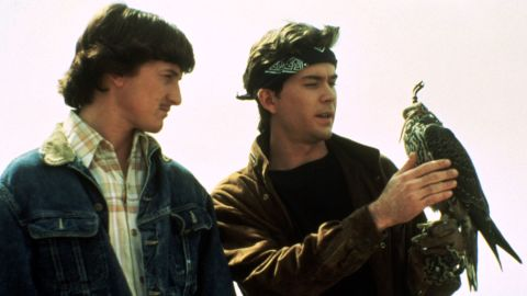 """Two boyhood friends in Southern California played by Sean Penn and Timothy Hutton, become unlikely spies for the Soviets in 1985's """"The Falcon and the Snowman."""" The drama centers around a<strong> </strong>disillusioned defense employee who conspires with his boyhood drug dealer friend to sell U.S. intelligence information. Based on the true story of Christopher Boyce, he learns the ugly truth of global intelligence warfare from the inside, making this '80s Cold War film well worth seeing. Also, it's one of Penn's best early film performances in a dramatic role."""