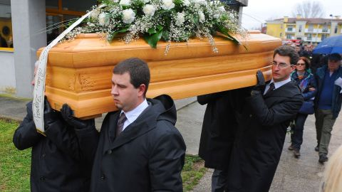 Giulio Regeni was buried in his native Italy on Feb. 12.