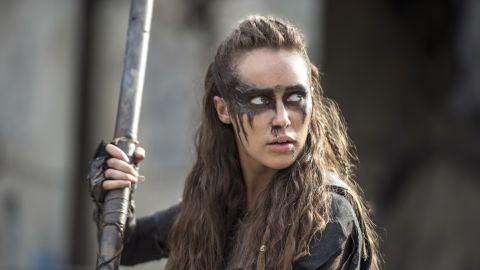 """Lexa, a fan favorite played by actress Alycia Debnam-Carey on the post-apocalyptic CW series """"The 100,"""" was killed by a stray bullet."""