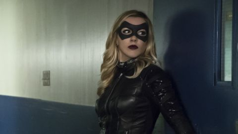 """Laurel Lance/Black Canary, the district attorney and Green Arrow sidekick played by actress Katie Cassidy, died in a season four episode of the CW's """"Arrow"""" series."""
