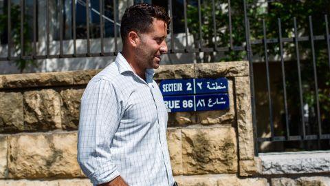 The children's father Ali al Amin