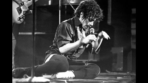 Prince at the Lyceum in London in 1981.