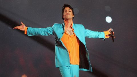 It's all about color -- A memorable performance at the Pepsi Halftime Show at Super Bowl XLI, February 4, 2007.