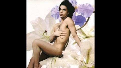 Naughty and nude -- The cover of Lovesexy, his tenth album was released in 1988. <br />
