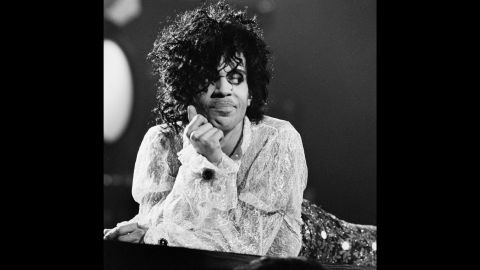 Prince performs at the Joe Louis Arena in Detroit in 1984.