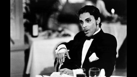 """Prince in a scene from the 1986 film """"Under the Cherry Moon."""""""