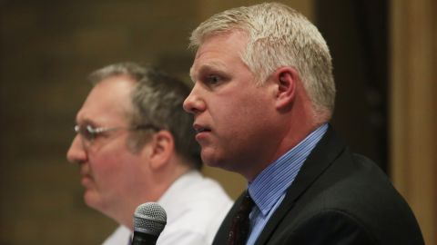 Stephen Busch was district supervisor for the Officer of Drinking Water at the Michigan Department of Environmental Quality.
