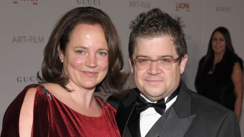 FILE - APRIL 22: Michelle McNamara, writer and wife of Patton Oswalt, dies on April 22, 2016. LOS ANGELES, CA - NOVEMBER 05:  Actor Patton Oswalt (R) and Michelle Eileen McNamara attend LACMA Art + Film Gala Honoring Clint Eastwood and John Baldessari Presented By Gucci at Los Angeles County Museum of Art on November 5, 2011 in Los Angeles, California.  (Photo by John Shearer/Getty Images for LACMA)