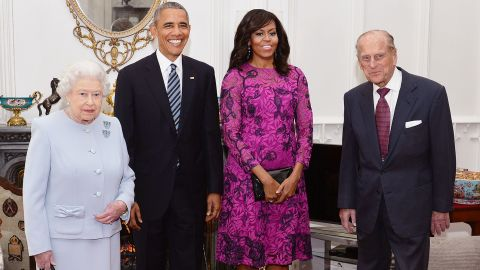 """The Queen told Michelle Obama that royal protocol is """"rubbish"""""""