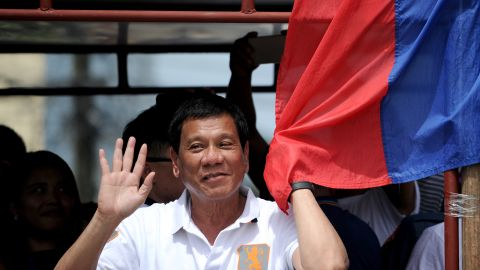 Rodrigo Duterte has cursed the Pope, 'joked' about the rape of an Australian missionary, and been accused of involvement in extrajudicial killings while mayor of Davao City. Despite the headlines,<br />the major presidential polls show that around one in three Filipino voters want him as president, making him a clear favorite.