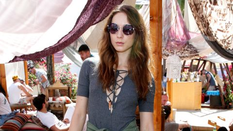 Actress Troian Bellisario treated the guy who found her phone to an epic weekend by letting him have her Coachella wristbands.