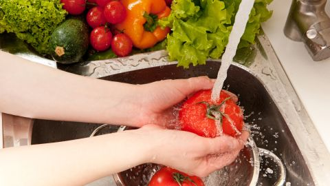 To preserve water-soluble vitamins and minerals, wait to wash until right before you cut. You want those nutrients to stay locked in. Avoid soaking your vegetables, as that can remove key nutrients, such as vitamin C.