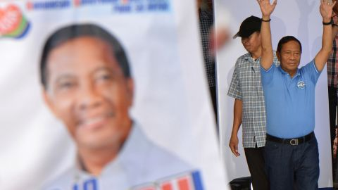 Currently Vice President of the Philippines, Jejomar Binay's run for the highest office has been marred by serious allegations of corruption. A March 2016 Philippines Commission on Audit report recommended that he be punished for a wide array of offenses with removal from office, although that can only be implemented through impeachment proceedings or by Philippine court proceedings. Binay slipped from third to fourth place in the latest SWS polls, with an estimated 14% of the vote.