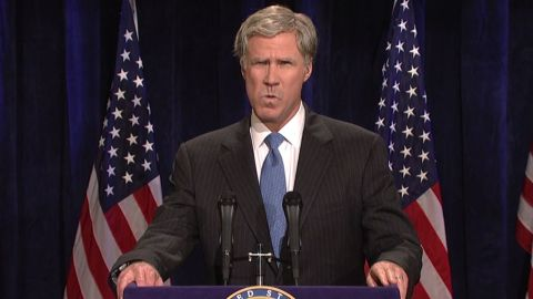 """Will Ferrell is famous for playing former President George W. Bush on """"SNL"""" and now he<a href=""""http://variety.com/2016/film/news/will-ferrell-to-play-former-president-ronald-reagan-in-new-movie-exclusive-1201762057/"""" target=""""_blank"""" target=""""_blank""""> is reportedly on board to play President Ronald Reagan in a planned motion picture.</a> Check out a few of the other actors who've portrayed commanders in chief:"""