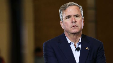 Republican presidential candidate Jeb Bush speaks to an audience of voters on February 18, 2016 in Columbia, South Carolina.