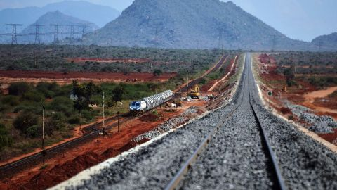 The hope is that this new railway will reduce congestion and ease up the pressure on the crowded streets.  According to Deloitte, more than 131 billion dollars was spent on transportation construction in 2015, and it's predicted that by 2025, $200 billion is expected to be spent on the continent's roads, and another seven billion dollars on African airports.