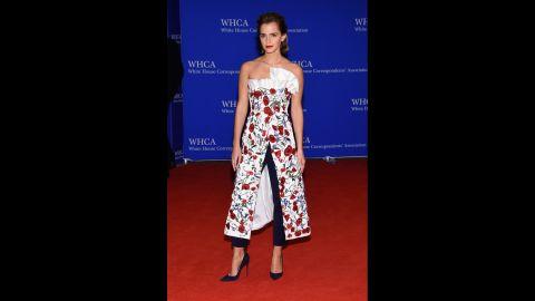 Actress Emma Watson at the Washington Hilton.