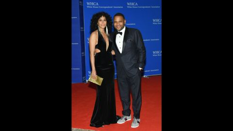 """Tracee Ellis Ross and Anthony Anderson of """"Black-ish."""""""