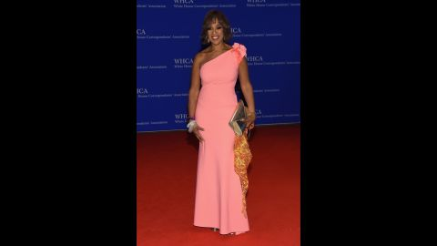 CBS co-host Gayle King.