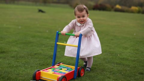 """Kensington Palace released four photos of Princess Charlotte ahead of <a href=""""http://www.cnn.com/2016/05/01/europe/uk-princess-charlotte-photos/index.html"""" target=""""_blank"""">her first birthday</a> in May 2016."""