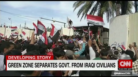 Iraq Baghdad Green Zone Protests Ben Wedeman_00013605.jpg