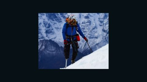 """Jukes, a combat-wounded veteran and single-leg amputee, uses a customized prosthetic leg when climbing and biking. His previous mountaineering and ice climbing experience includes frozen Bridal Veil Falls in Telluride, Colorado. He ascended Mount Lobuche, one of the highest peaks in the Himalayas, in 2010 with other veterans through the nonprofit No Barriers USA, which was detailed in the 2012 documentary """"High Ground."""""""