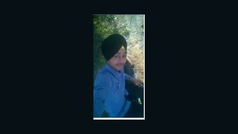 **UNKNOWN SHOT DATE**Photo: Ramandeep Singh15-year-old Ramandeep Singh accidentally shot himself while trying to take a selfie with his father's gun. Singh died in hospital in the afternoon on Sunday May 1, 2016.