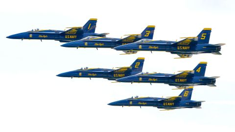 The Blue Angels shown here in 2016.