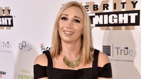 Swimmer Amy Van Dyken attends Muhammad Ali's Celebrity Fight Night XXII on April 8, 2016, in Phoenix, Arizona.