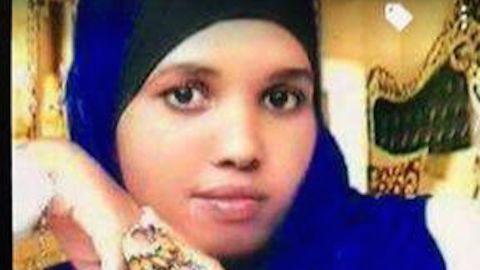Hodan Yasin, Somali asylum seeker who set fire to herself in Australian immigration center on Nauru.