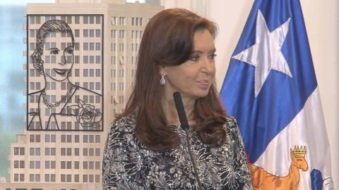 """Former Argentine President Cristina Fernandez de Kirchner says accusations about her are """"absolutely false."""""""