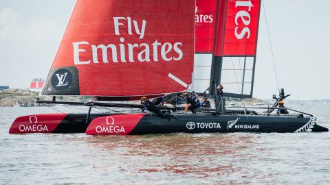 The Kiwi syndicate was America's Cup champion in 1995 and 2000, but lost to Swiss entrant Alinghi in the 2003 and 2007 finals.