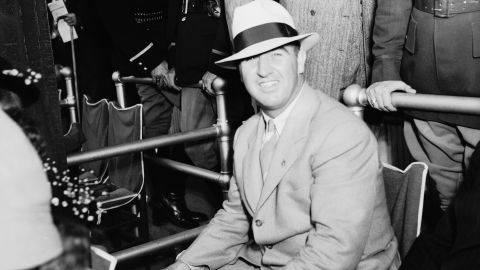"""Suits continued to be the outfit of choice for both men and women in the 1930s. <br />""""In fact, in the 1930s and 1940s the formal suit seemed to be more popular than the dress,"""" <a href=""""https://www.kentuckyderby.com/history/fashion/1930s-and-1940s"""" target=""""_blank"""" target=""""_blank"""">said the Kentucky Derby on its website. </a>"""