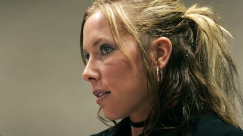 Kim Mathers, ex-wife of rapper Eminem, broke her silence Wednesday about a 2015 car accident.