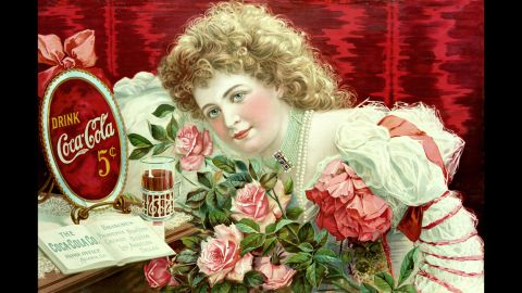 <strong>1900: </strong>Singer and actress Hilda Clark was the first celebrity to be featured in Coca-Cola advertising. Her likeness could be found on serving trays, signs, clocks, coupons and more.