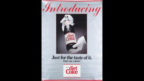 <strong>1982:</strong> Diet Coke was the first extension of the Coca-Cola brand name beyond the original drink. It hit U.S. markets in 1982 as a way to attract consumers who wanted a lower-calorie option.