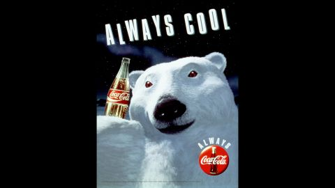 """<strong>1993:</strong> Coca-Cola's animated polar bears debuted in 1993 as part of the company's """"Always"""" campaign. They are often used in holiday ads."""