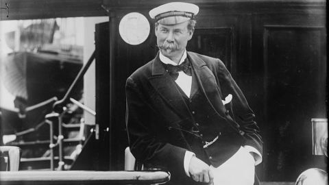 Merchant and yachtsman Sir Thomas Johnstone Lipton (1848-1931) started the Lipton tea company.