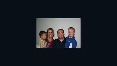 Derek Geer had two young children.