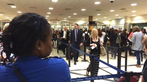 Atlanta has closed one of three domestic TSA checkpoints for three weeks to calibrate automated screening equipment, which has lengthened lines at the world's busiest airport.