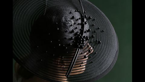Wearing an fabulous, obnoxious hat is thought to bring good luck (at least, to you and whatever horse you have the most money on).