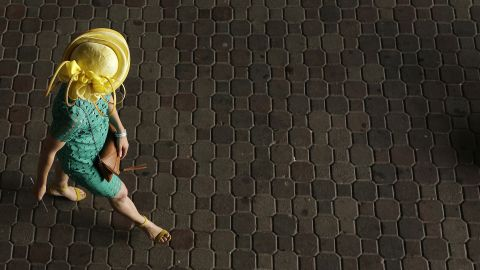 """""""Wearing a hat is much like getting into costume, you might be pleasantly surprised to see what type of character you become,"""" says the Kentucky Derby website."""